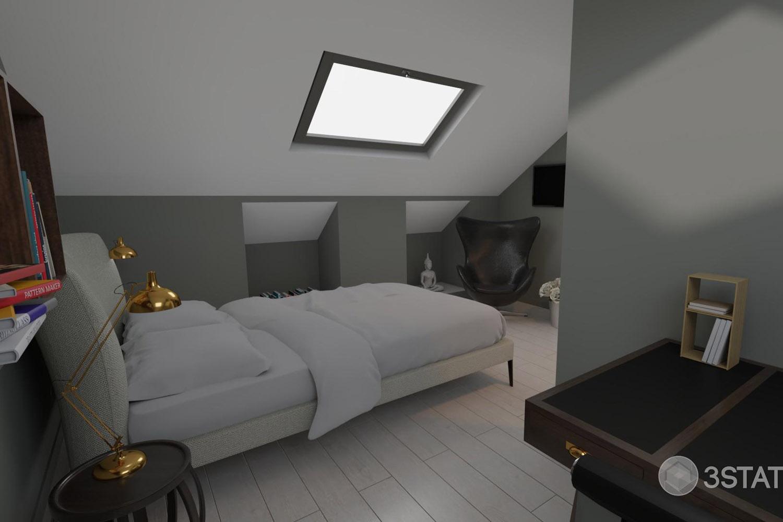 3D Slaapkamer 3
